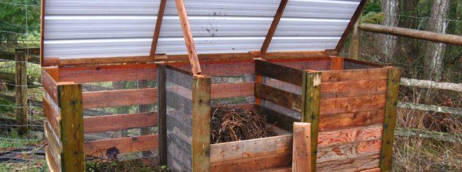 Как сделать компостный ящик фото 233-185