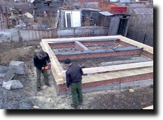 строим баню своими руками