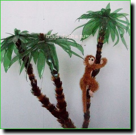 Пальма из картона своими руками