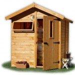 Как построить деревянную кабинку для летнего душа