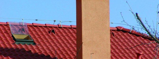дымовая труба на даче