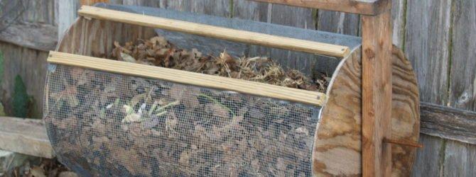 Как украсить компостную кучу