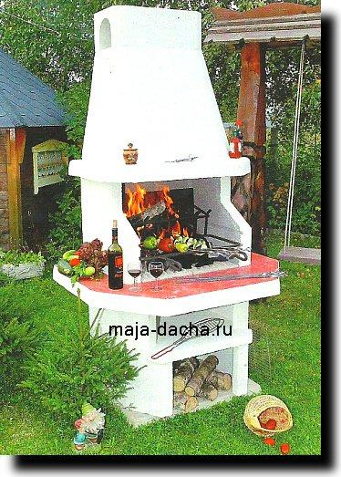 печь на угле и на дровах