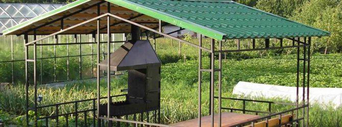 Передвижной уголок для отдыха на даче