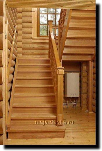 Такая лестница устроена следующим