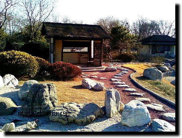 Как сделать сад эксклюзивным в японском стиле