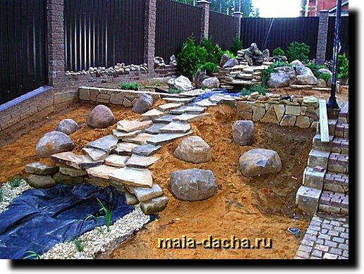 Сад из камней фото