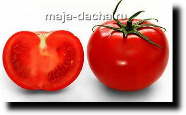 разрезаем помидор фото
