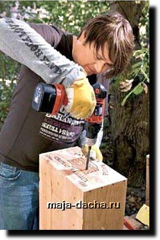 Ящик-этажерка для урожая своими руками с фото