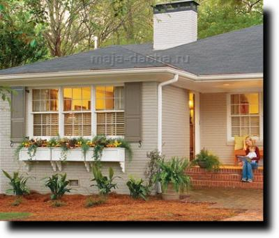 Декору фасадов домов