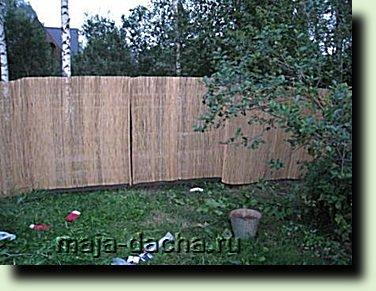 Декоративный забор для дачи своими руками фото