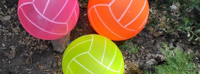 резиновые мячи