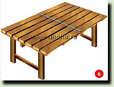 Складной столик своими руками сами