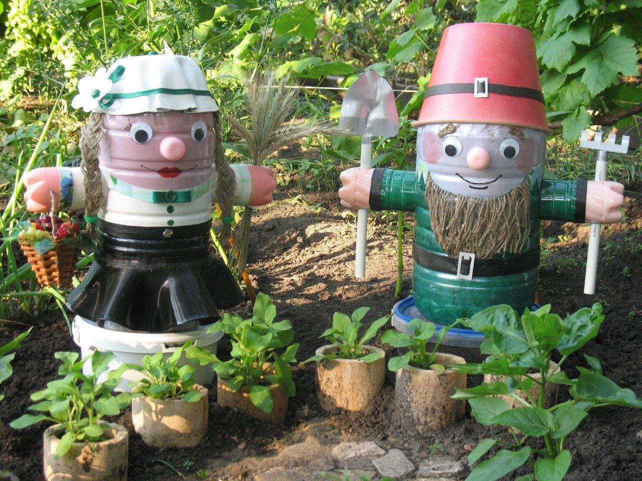 Поделки из пятилитровых бутылок своими руками для детского сада