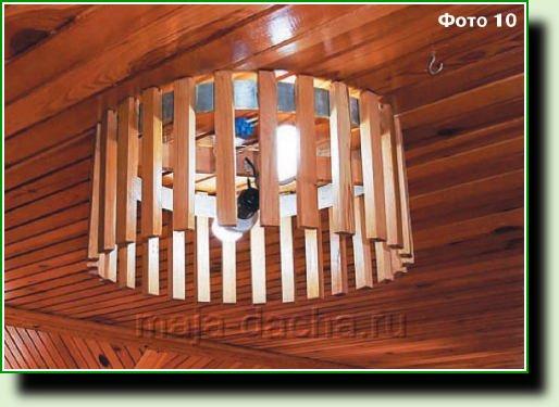 Светильники для дачи фото