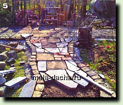 Садовая дорожка своими руками-шаг за шагом.