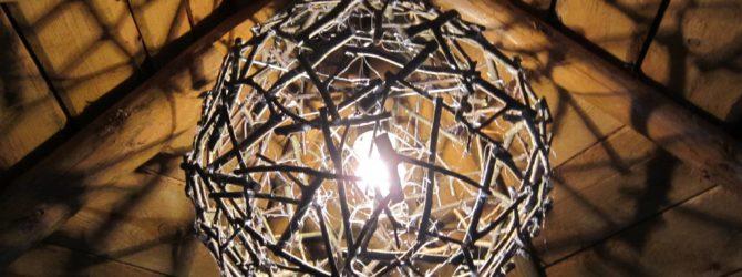 светильники своими руками из дерева