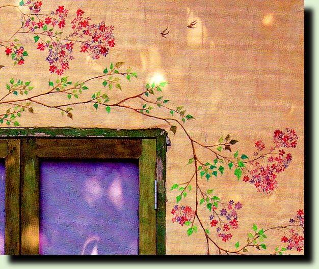 Как украсить стену в доме своими руками