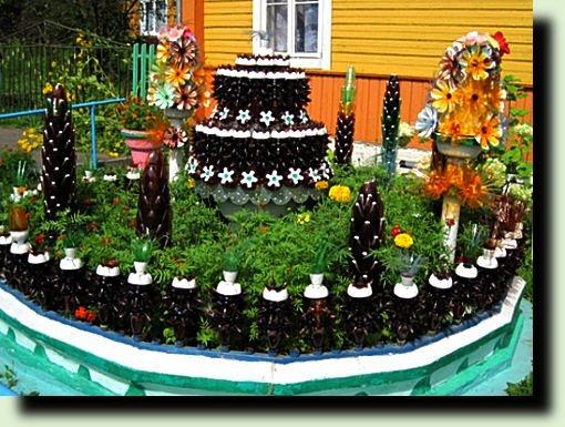 Как оформить свой сад своими руками
