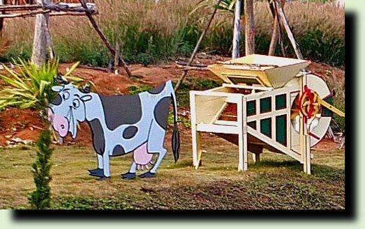 Снимок27 корова на даче фото