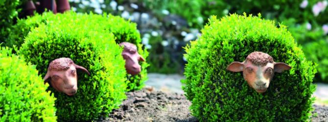 декорирование сада
