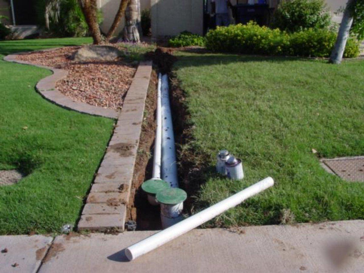 Как отвести воду с участка своими руками фото 407