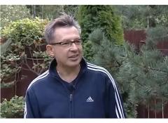 Игорь Успенский в хвойном саду