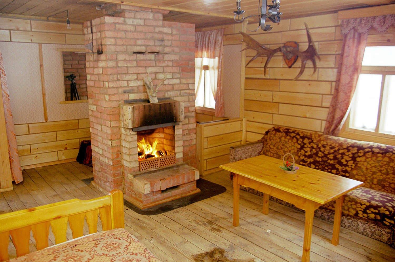 дровяная печь