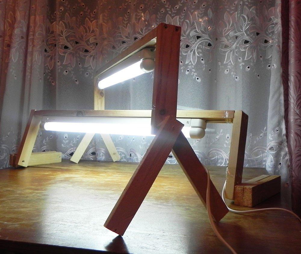 Люминесцентных ламп своими руками