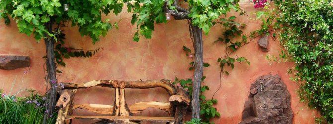 лавочка из дерева