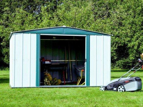 металлический гараж для инструментов