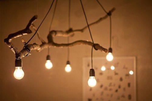 Сделать напольный светильник своими руками