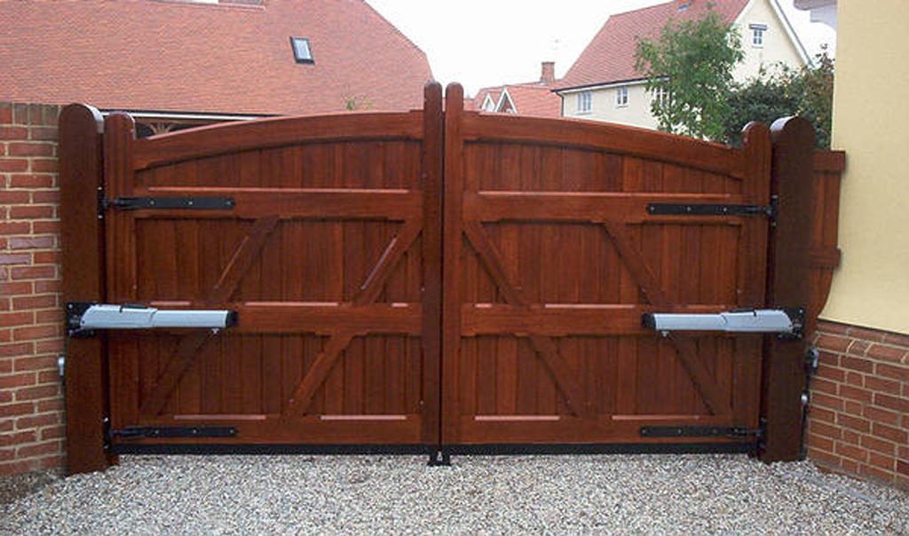 Как самостоятельно сделать ворота для гаража