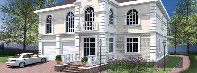Фасадный декор для дачи и лепнина из полиуретана