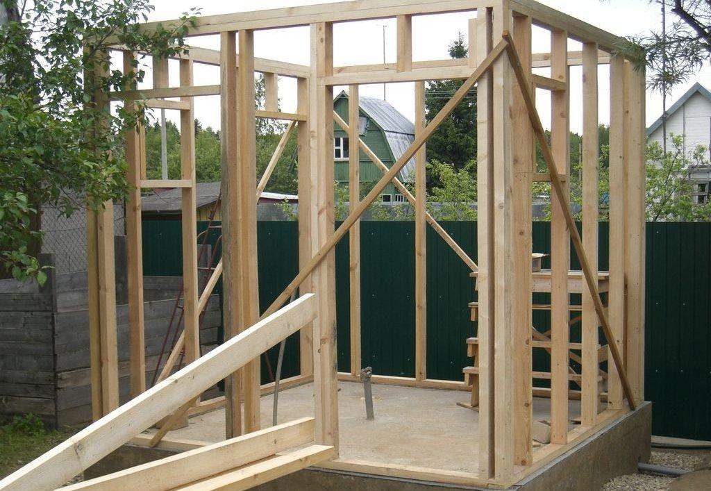 Летний душ на даче-строим кабинку