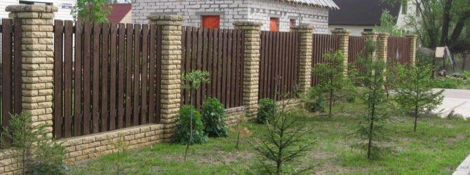 Строим забор для дачи
