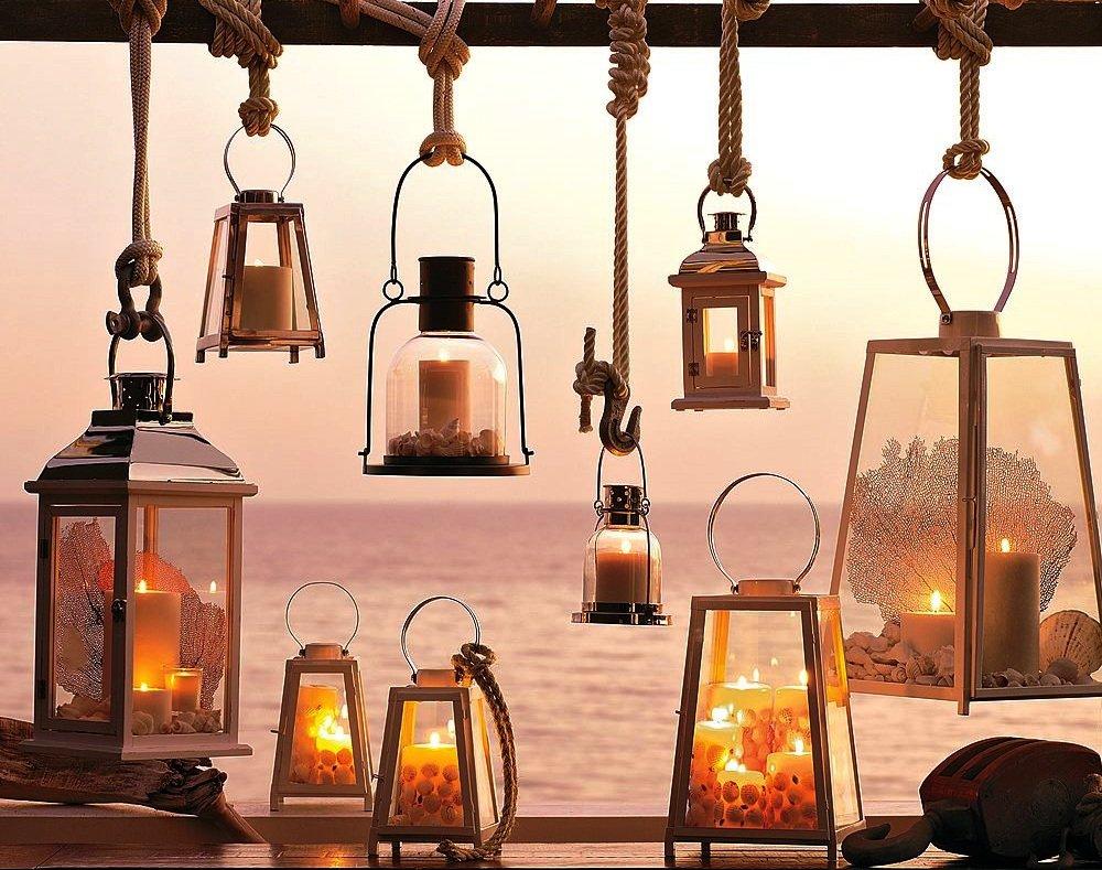 Садовые фонарики, на даче, своими руками