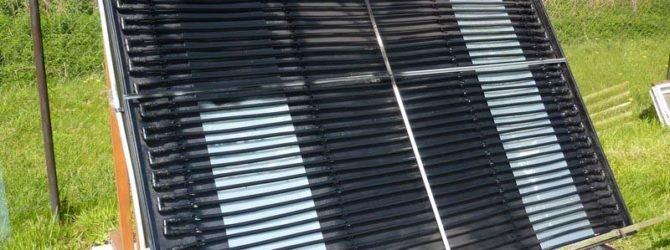 Солнечный водонагреватель для дачи своими руками
