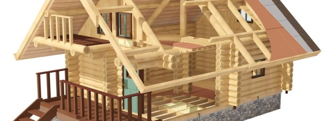 Строим баню из сруба