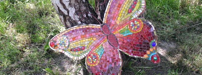 Как сделать бабочку для дачи