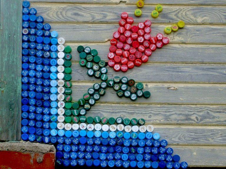 Поделки из пластиковых бутылок пробок от бутылок