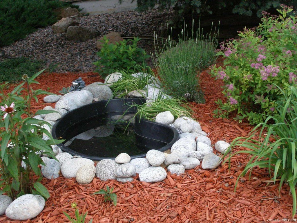 Как правильно сделать пруд для сада