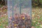 Укрытие листьями