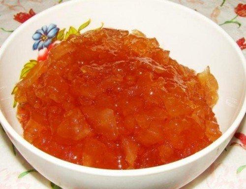 Заготовки из яблок сорта Конфетное