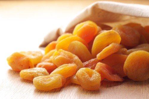 Сушёные абрикосы