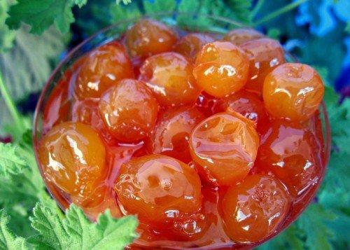 Варенье из плодов черешни