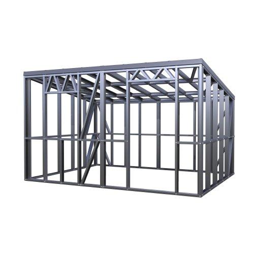 Построить металлический сарай