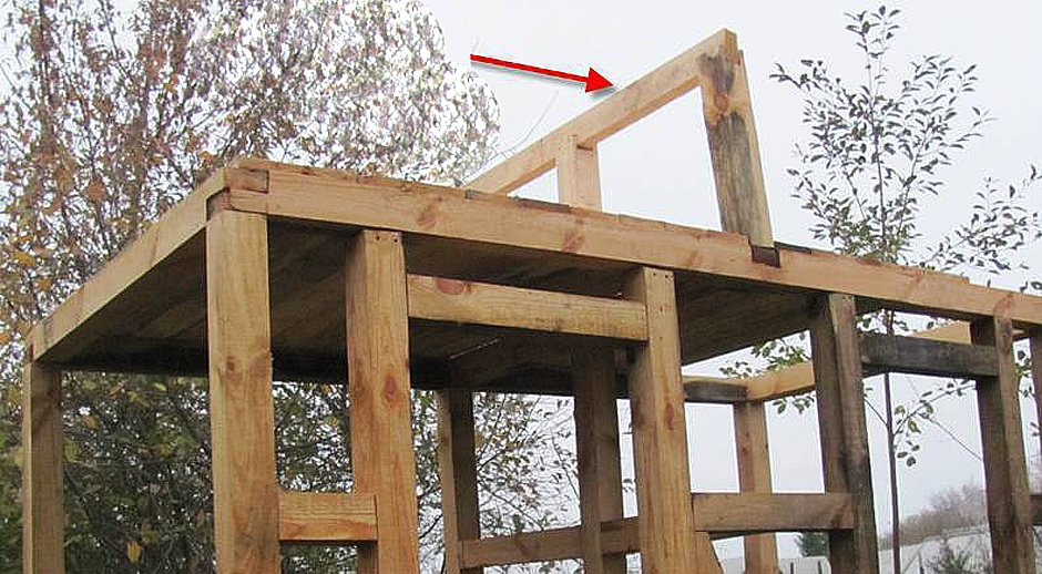 Как построить своими руками крышу на даче