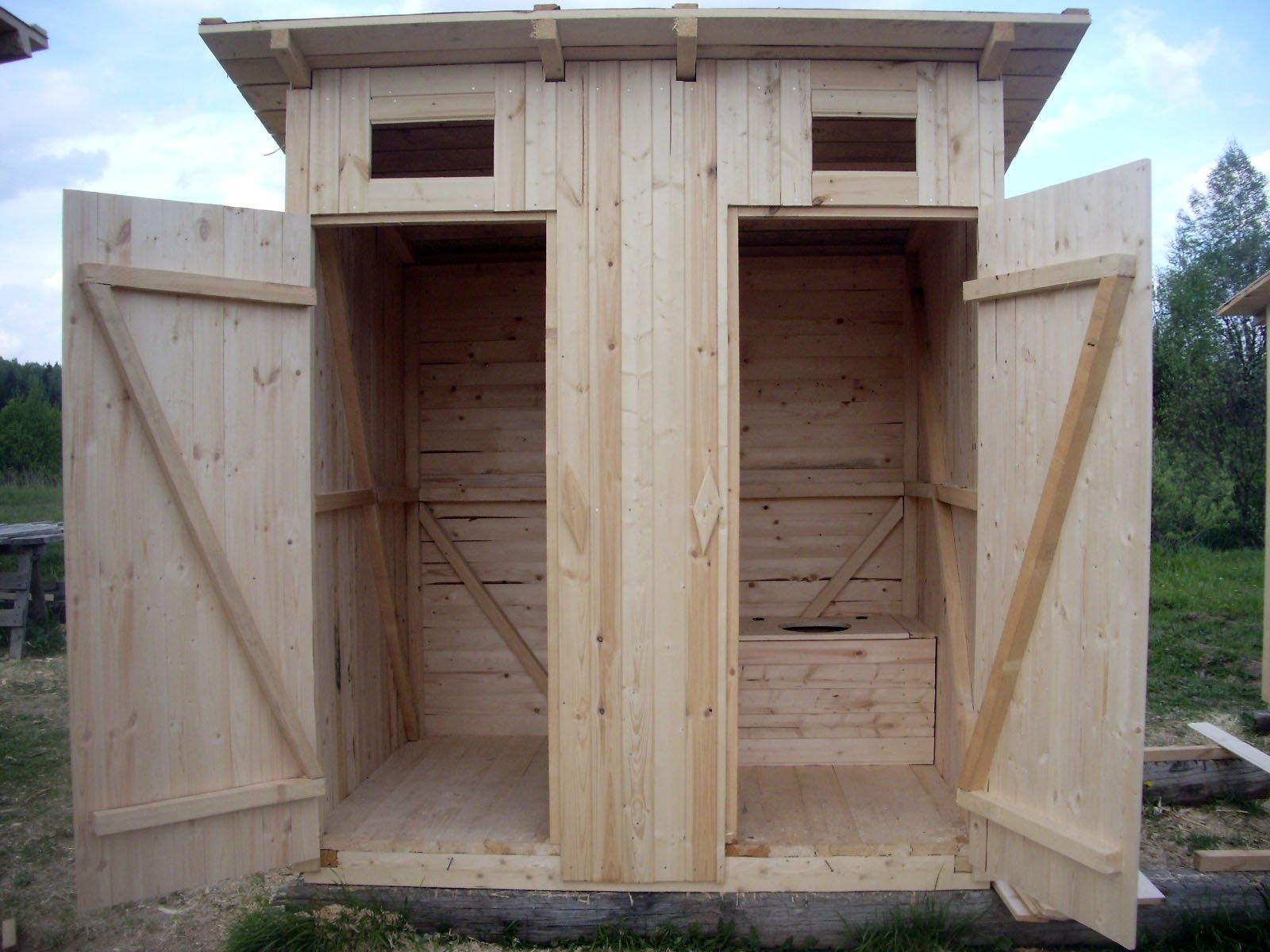 Строим на даче душ с туалетом своими руками