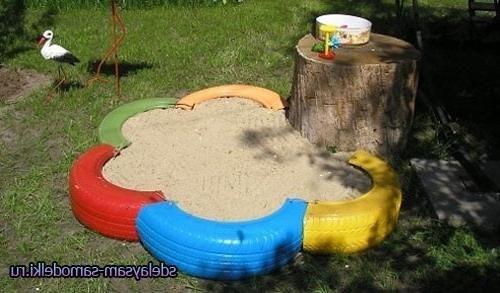 Песочница как сделать детям 19